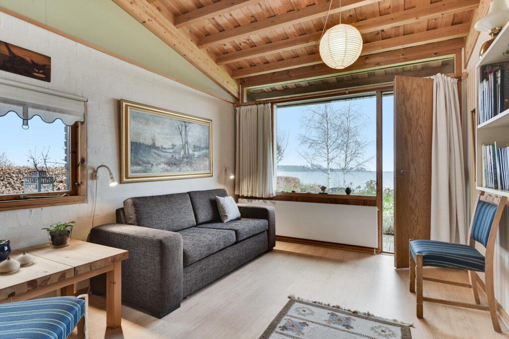 Værelse med udsigt, rustikt 80'er hus, Carla og Axel Jürgensen, arkitekttegnet villa