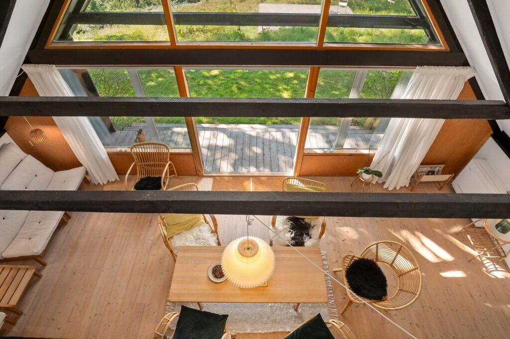 Arkitekttegnet fritidshus, arkitekttegnet 60'ersommerhus
